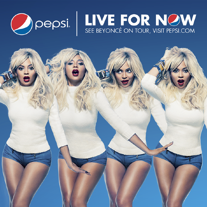 Beyonc 233 Pepsi Billboards Ezmandesign