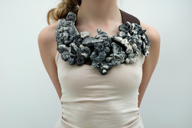 Ready To Wear Garland Necklaces Jennifer Gray Designer Maker